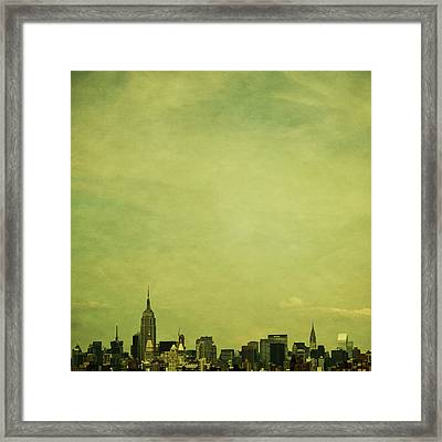 Escaping Urbania Framed Print