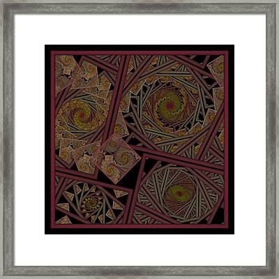 Escher Stairway Framed Print