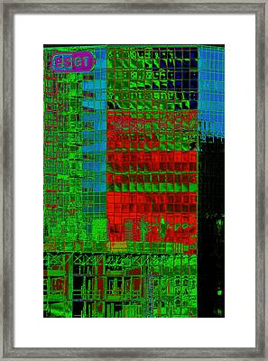 Eser In San Diego Framed Print by Richard Henne