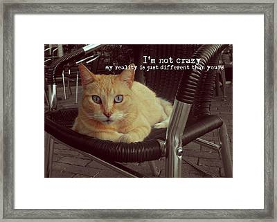 Esmeralda Quote Framed Print by JAMART Photography