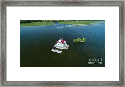 Esopus Lighthouse Framed Print