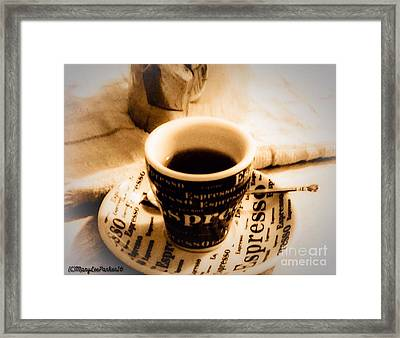 Espresso Anyone Framed Print