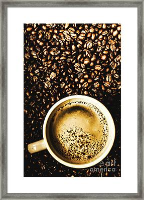 Espresso Roast Framed Print by Jorgo Photography - Wall Art Gallery
