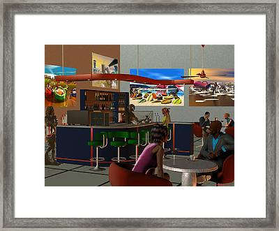 Espresso Tini Framed Print by Williem McWhorter