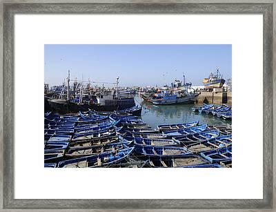 Essaouira Morocco Framed Print by Liz Pinchen