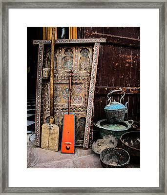Essauoira Treasures Framed Print by Marion McCristall