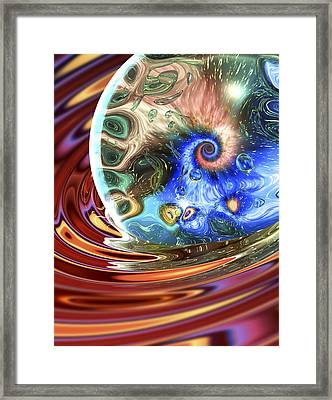 Esscence Of Life Framed Print