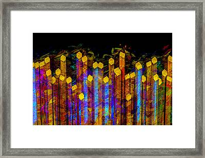 Essence De Lumiere Framed Print