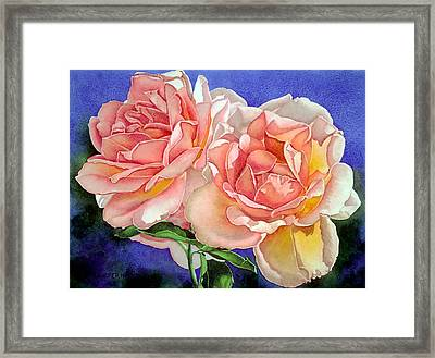 Essence Framed Print by Mary Backer