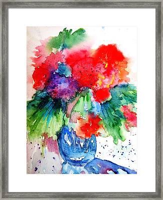 Essence Of Summer Framed Print