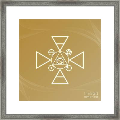 Essence Of The Spirit Framed Print