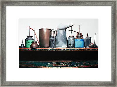 Essential Oils Framed Print by Denny Bond