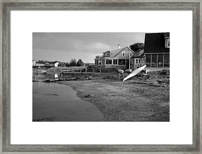 Essex At Dusk Framed Print