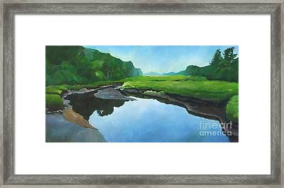 Essex Creek Framed Print
