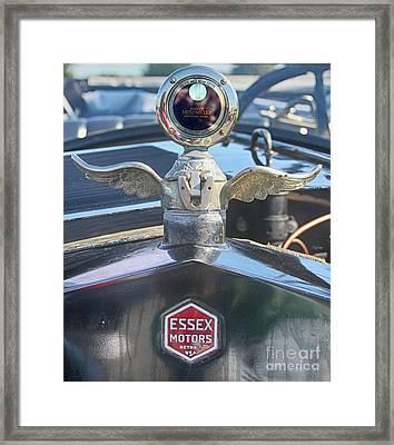 Essex Motors Framed Print by Steven Digman