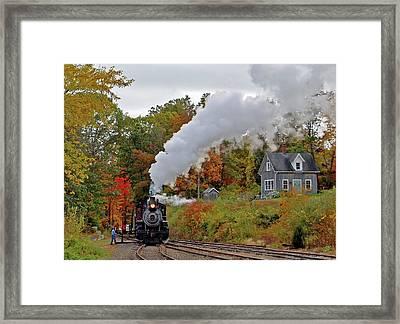 Essex Train Framed Print