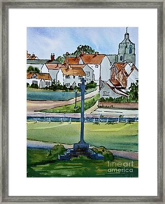 Essex Village In England Framed Print by Dianne Green