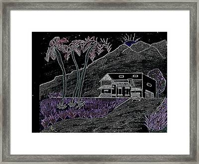 Estate Framed Print by Karen Diggs