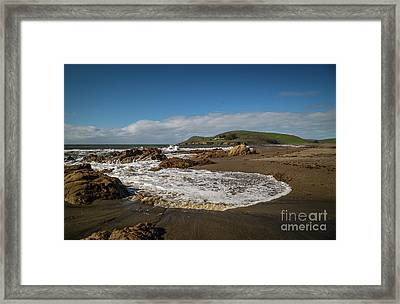 Estero Bluffs 8b5281 Framed Print by Stephen Parker