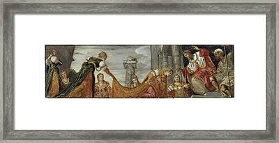 Esther Ante Ahasuerus Framed Print