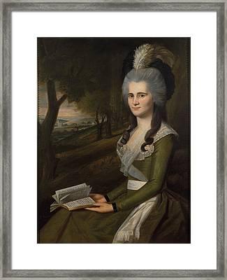 Esther Boardman Framed Print by Ralph Earl