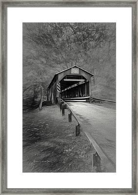 Esther Furnace No 8 Framed Print by Marvin Spates