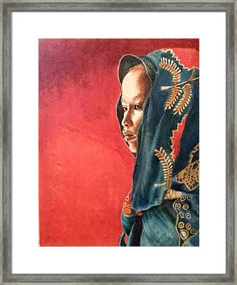 Esther Framed Print by G Cuffia