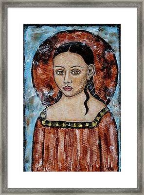 Esther Framed Print by Rain Ririn