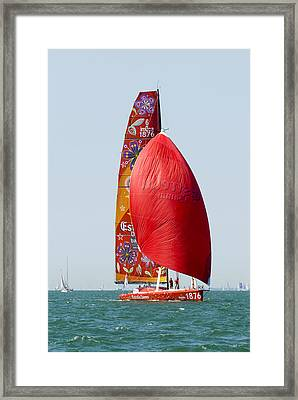 Estrella Damm Framed Print by Gerry Walden