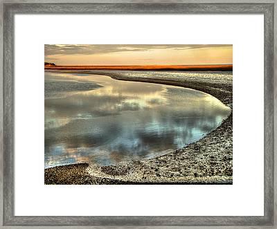 Estuary Framed Print
