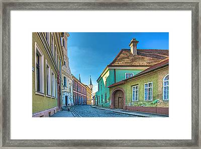 Esztergom Pastels Framed Print