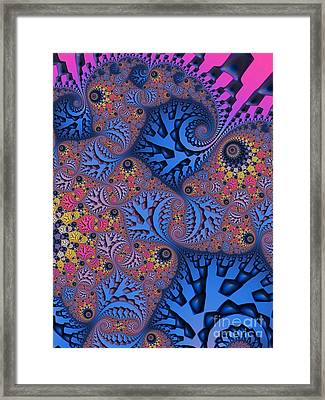 Etched In Color Framed Print by John Edwards