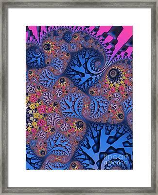 Etched In Color Framed Print
