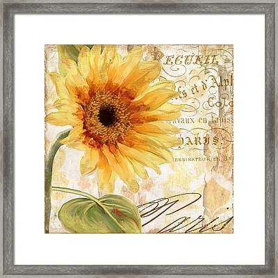 Ete Framed Print by Mindy Sommers