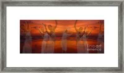 Eternal Dance Framed Print by Jeff Breiman