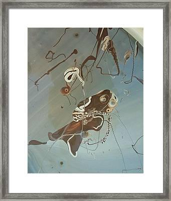 Eternal Fish Framed Print by Gyula Julian Lovas