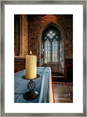 Framed Print featuring the photograph Eternal Flame by Adrian Evans