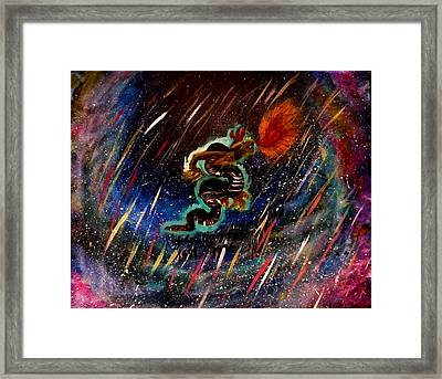 Eternal Flame  Framed Print