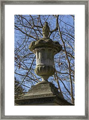 Eternal Flame Unr Framed Print by Teresa Mucha