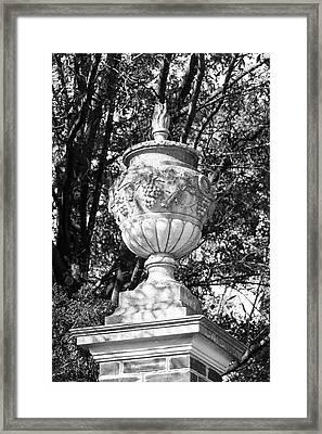 Eternal Flame Urn Framed Print by Teresa Mucha