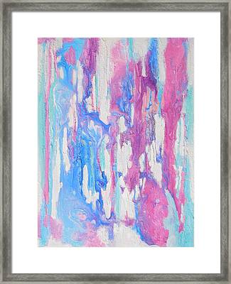 Eternal Flow Framed Print by Irene Hurdle