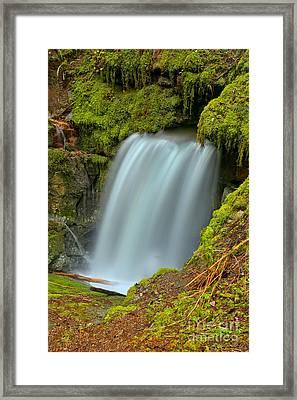 Eternal Fountain Bc Framed Print