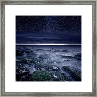 Framed Print featuring the photograph Eternal Horizon by Jorge Maia