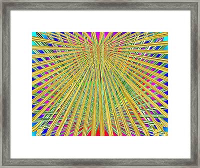 Eternal Loom Framed Print by Tim Allen