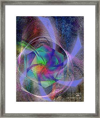 Eternal Reactions Framed Print