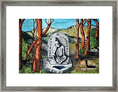 Eternal Rest Framed Print by David Syers