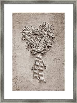 Eternal Lilies Framed Print by Tom Mc Nemar