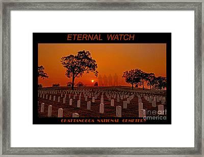 Eternal Watch Framed Print