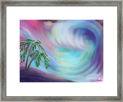 Eternal Wave Framed Print by Dani Abbott