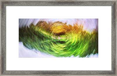 Eternally Spinning Framed Print